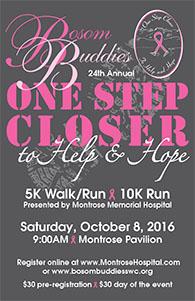 2016 Bosom Buddies Walk Run